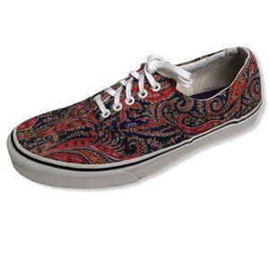Vans Era Paisley Sneakers-Sz 10.5